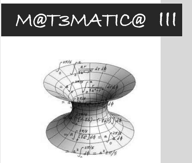 Cuadernillo de Matemática de 3º año